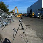 Étude d'impact acoustique d'une installation classée pour la protection de l'envirronement (ICPE) de type centre de trie des métaux
