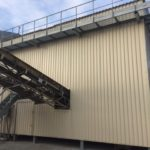 Études des traitements acoustiques pour la conformité acoustique d'une installation classée pour la protection de environnement (ICPE) de type carrière - Bardage acoustique