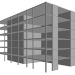 Modélisation 3D Pôle Intermodal Le Revard à Aix Les Bains (73)