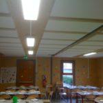 Étude de la correction acoustique d'un réfectoire scolaire